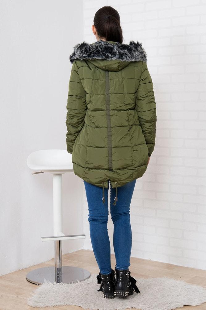 Zimná prešívaná bunda - Kesi - Bundy dámske zimné - vasa-moda.sk 4fcdc64c109