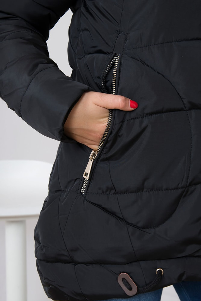 Dámska prešívaná bunda - Kesi - Bundy dámske zimné - vasa-moda.sk f13156d9322