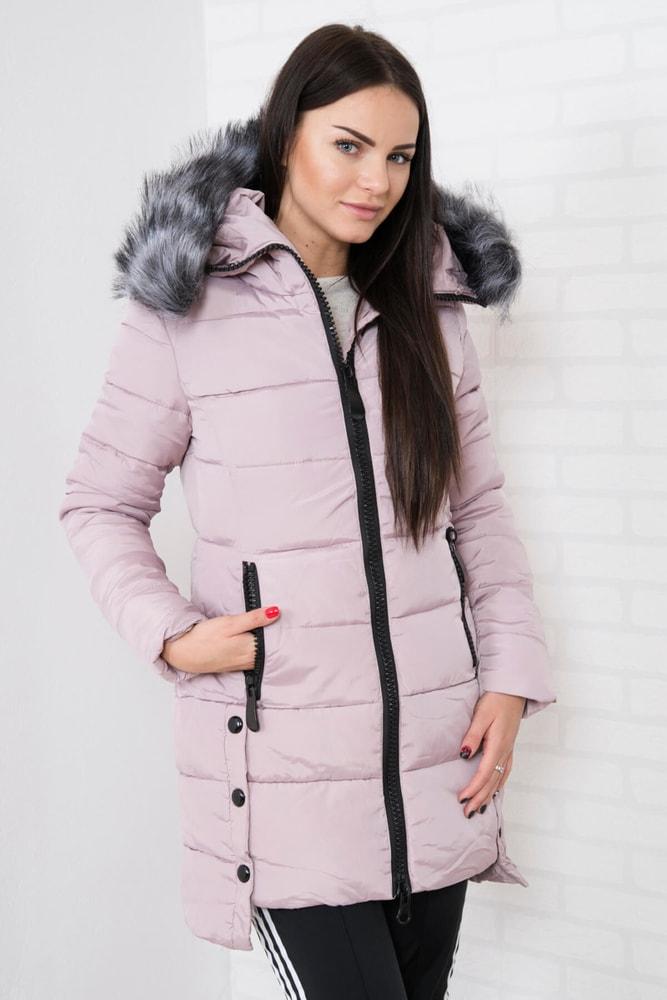 Dámska zimná bunda s kapucňou Kesi ks-bu8806spi