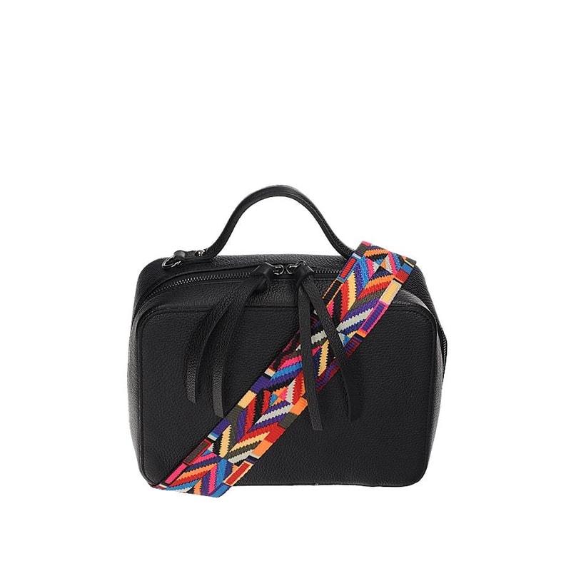 Malá kabelka z kože Vera Pelle gl-ka1090bl 494d8da0252