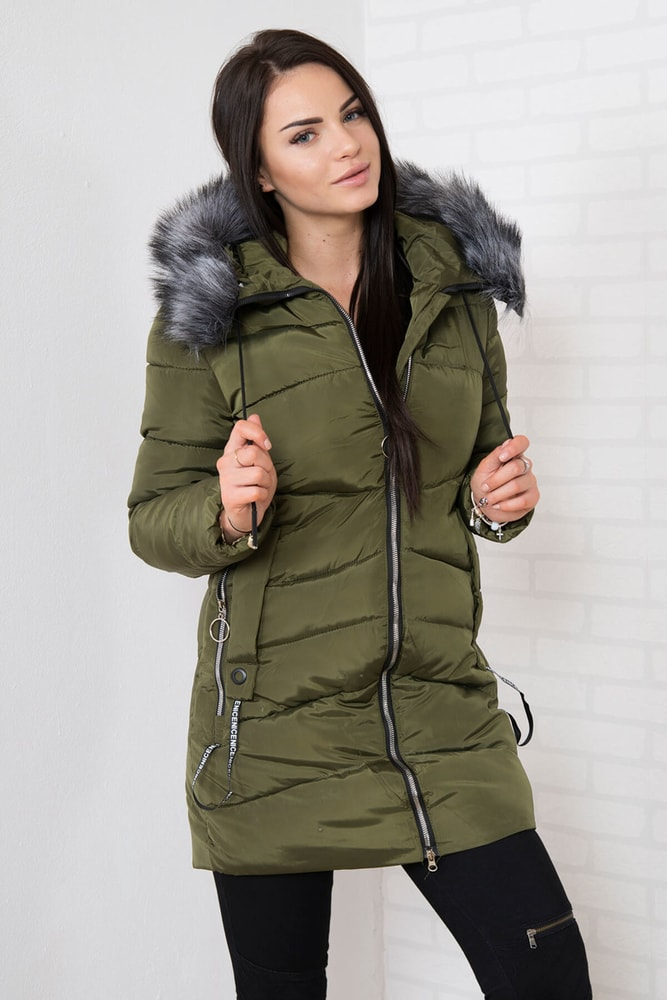 Zimná bunda s kapucňou Kesi ks-bu8810kh