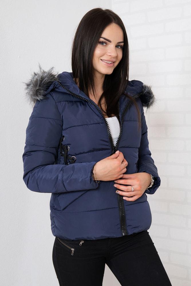 Zimná bunda s kapucňou - xxxl Kesi ks-bu2662tm-k