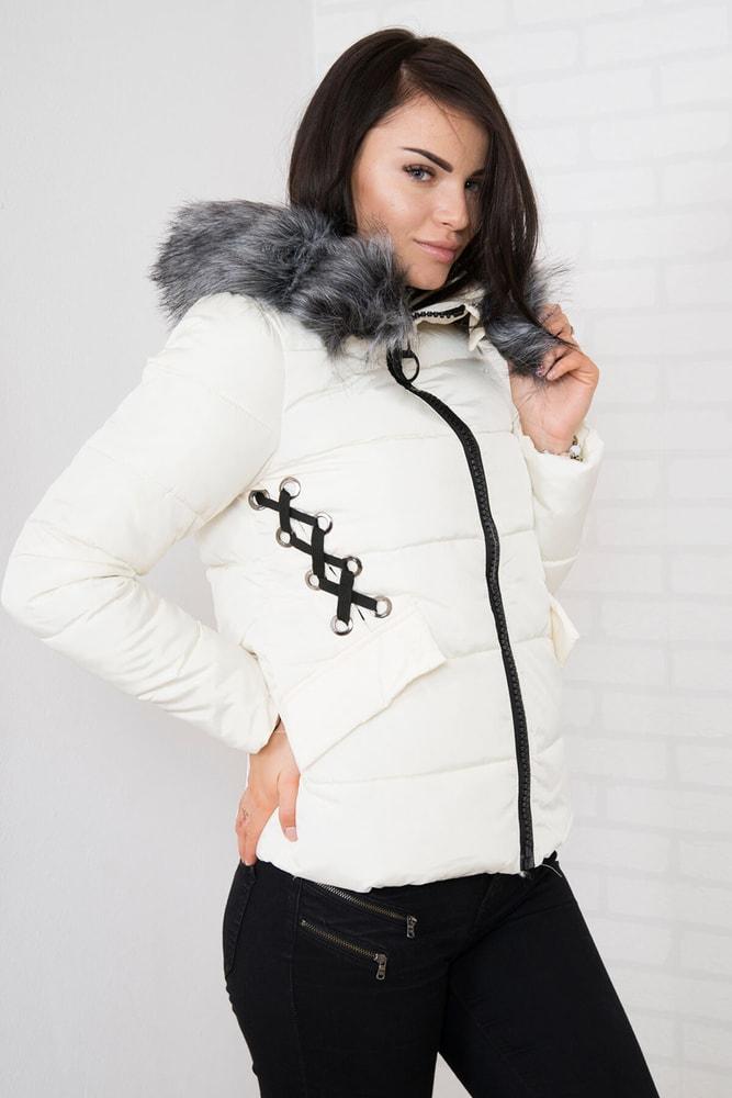 Dámska zimná bunda - xxxl Kesi ks-bu2662cr-k