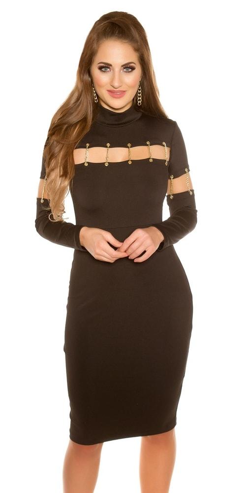 Dámské sexy šaty Koucla in-sat1772bl