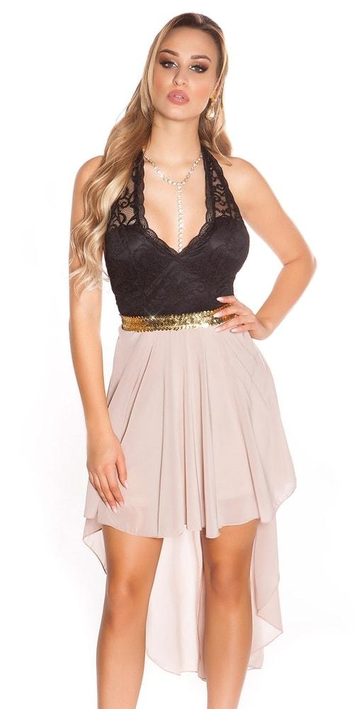 Plesové šaty krátke Koucla in-sat1002be