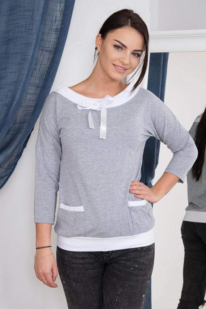 Tričko dámské šedé - S/M Kesi ks-tr62025sg
