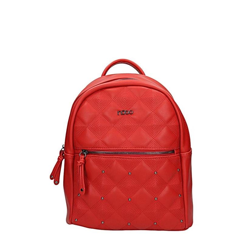 Červený dámský batoh NOBO gl-ka1228re