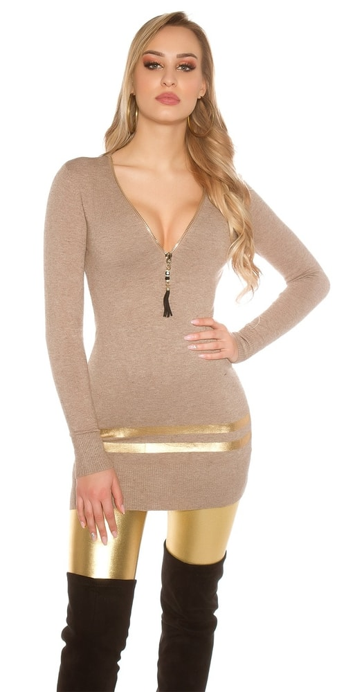 b2521ab72dce Úpletová tunika. Domů ›  Dámské oblečení ›  Dámské tuniky ...