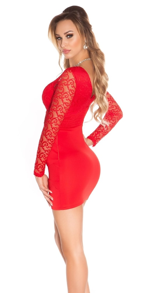 Dámske šaty červené - Koucla - Puzdrové šaty - vasa-moda.sk 7d1fc4ac4f1