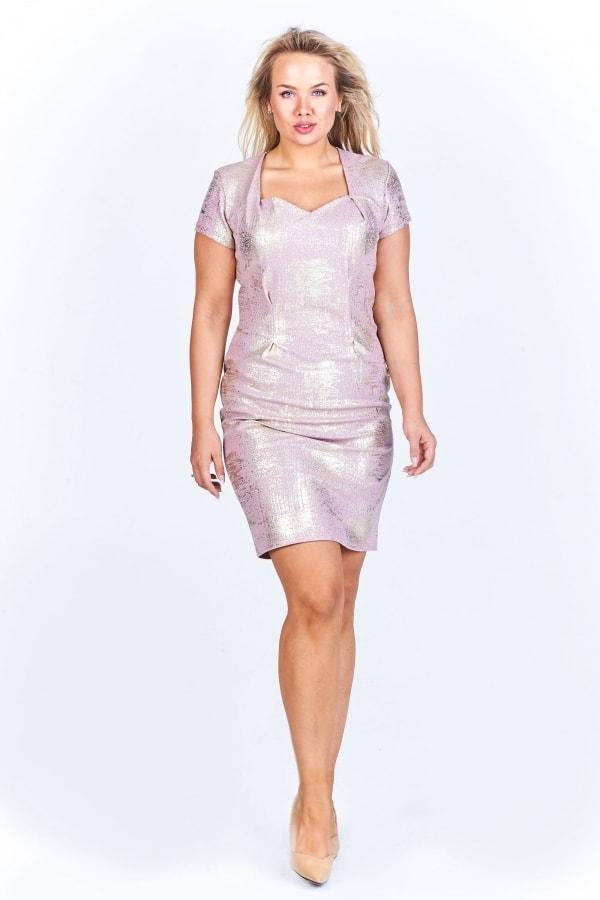 92dfe45c1ca Pouzdrové šaty plus size - Ptakmoda - Společenské šaty pro ...