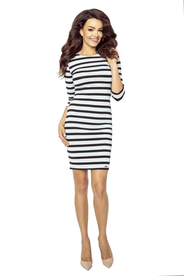 Dámské pruhované šaty - Bergamo - Denní šaty - i-moda.cz 71a49e42c6