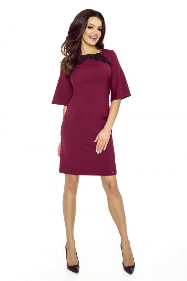 Elegantné dámske šaty Bergamo pt-sat1220bo