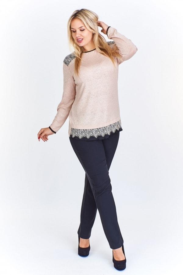 9c166d58bc5 Elegantní dámský svetr plus size - Ptakmoda - Svetry a mikiny pro ...