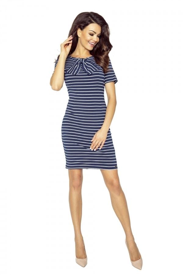 Letní pruhované šaty - Bergamo - Krátké letní šaty - i-moda.cz 9079e90db9