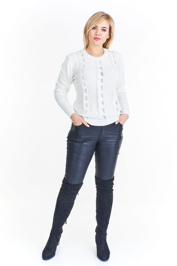 Elegantní svetr plus size - Ptakmoda - Svetry a mikiny pro plnoštíhlé - i  ... 39c3493313