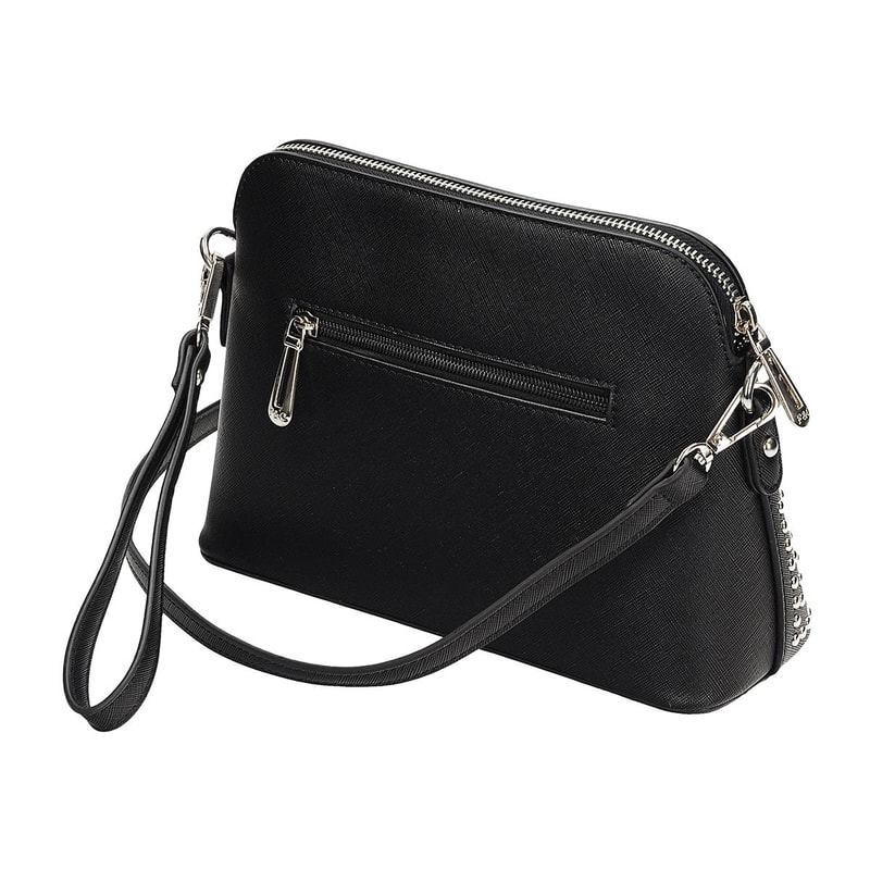 Čierna dámska kabelka - Flora - Crossbody kabelky - vasa-moda.sk aafdf411fda