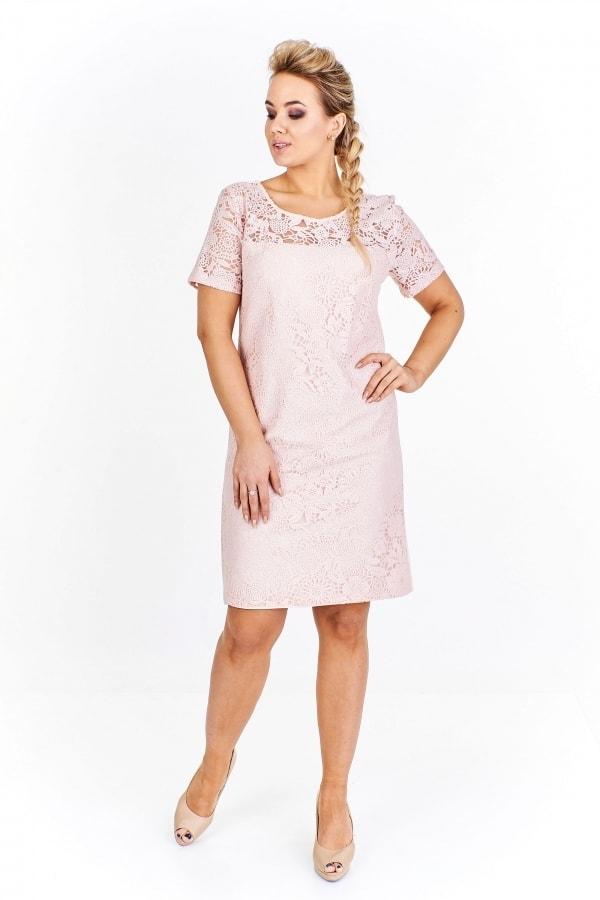 03fefff4ce6 Společenské krajkové šaty plus size - Ptakmoda - Společenské šaty ...