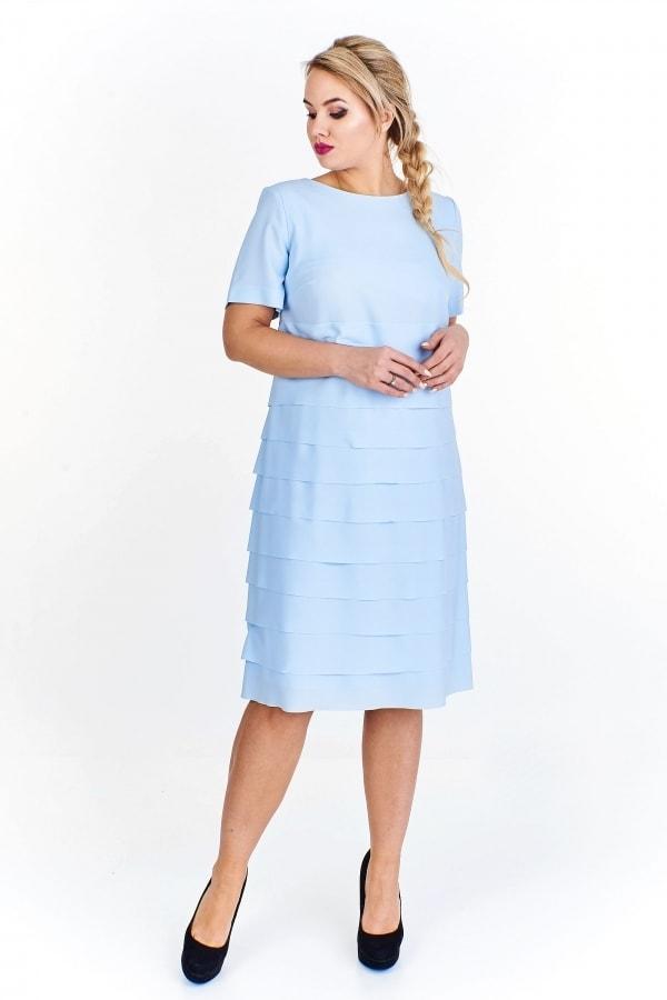 d1fedbaf150 Elegantní dámské šaty - Ptakmoda - Společenské šaty pro plnoštíhlé ...