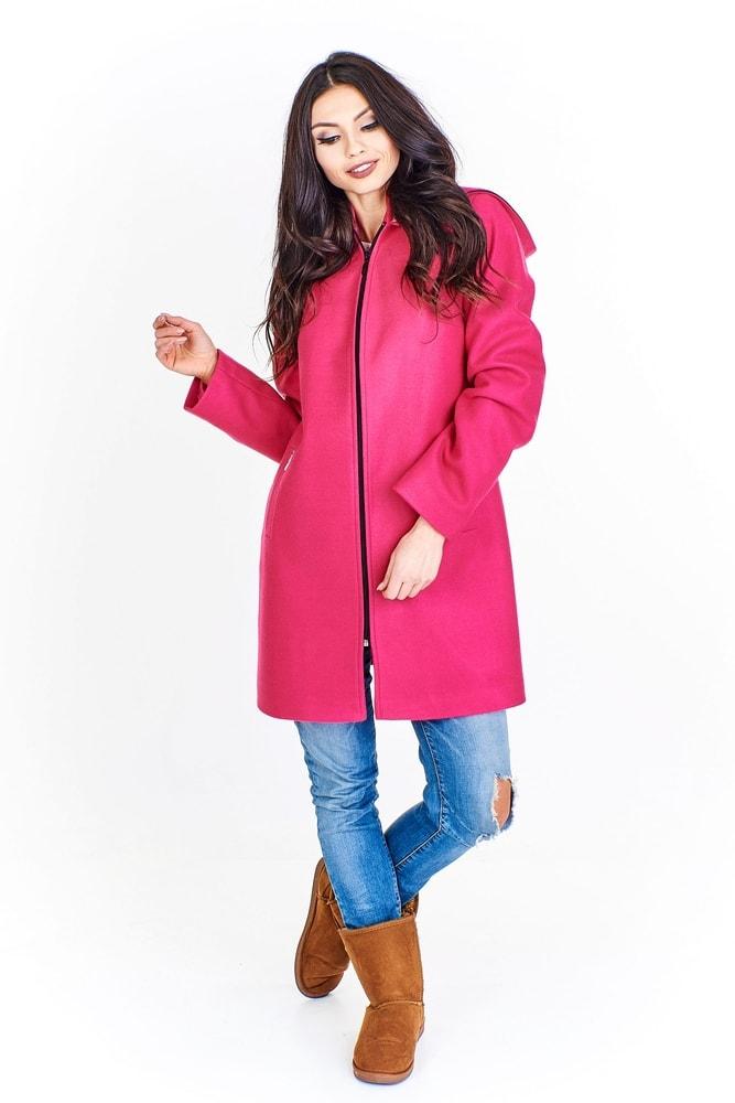 Vlnený kabát s kapucňou - Ptakmoda - Dámske kabáty jesenné - vasa ... a803b0c2f2d