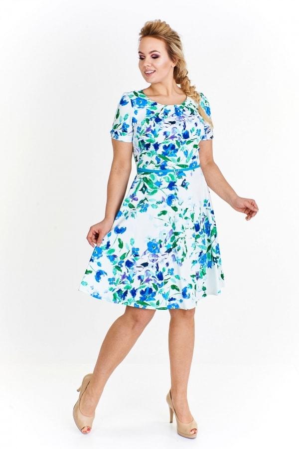 Letní šaty pro plnoštíhlé - Ptakmoda - Letné šaty pre plnoštíhle - vasa ... 86bdb655724