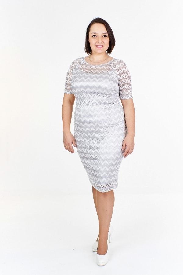 Čipkované puzdrové šaty plus size - Ptakmoda - Spoločenské šaty pre ... c8ab4183c2b