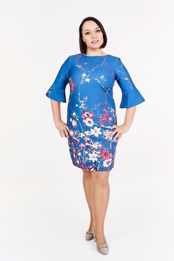 Dámské letní šaty plus size Ptakmoda pt-sat1293mo