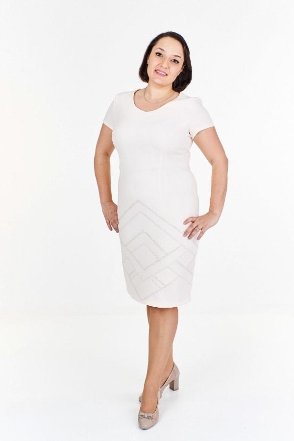 Dámske elegantné šaty plus size - Ptakmoda - Spoločenské šaty pre ... 3b01d2428b2