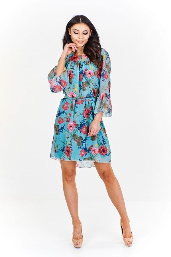 Letní šifonové šaty - Ptakmoda - Krátké letní šaty - i-moda.cz 357d6e2a0d8