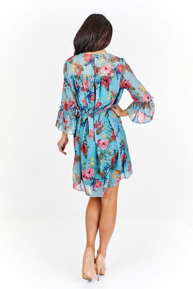 Letné šifónové šaty - Ptakmoda - Krátke letné šaty - vasa-moda.sk ed8251fd1f1