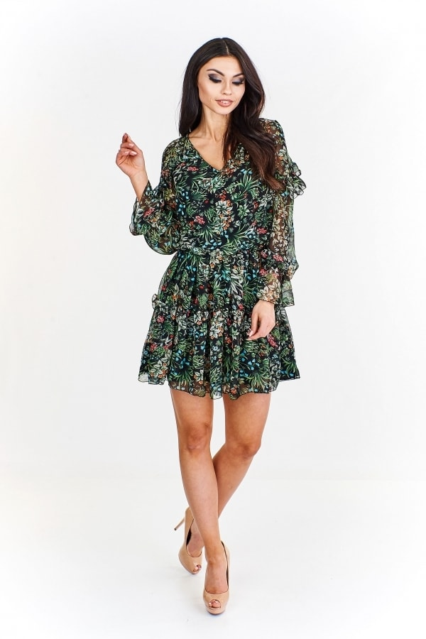 Dámske šifónové minišaty. Home ›  Dámske šaty ›  Letné šaty ›  Krátke ... 328f93bf321