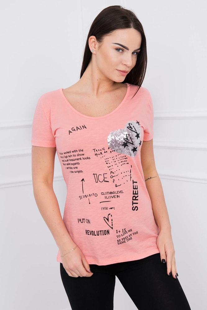 Dámske tričká Kesi ks-tr8858ap