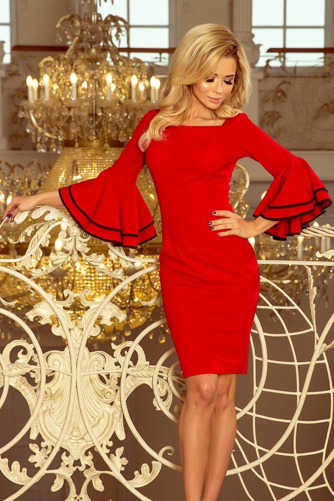 Dámske večerné šaty - XL Numoco nm-sat188-1