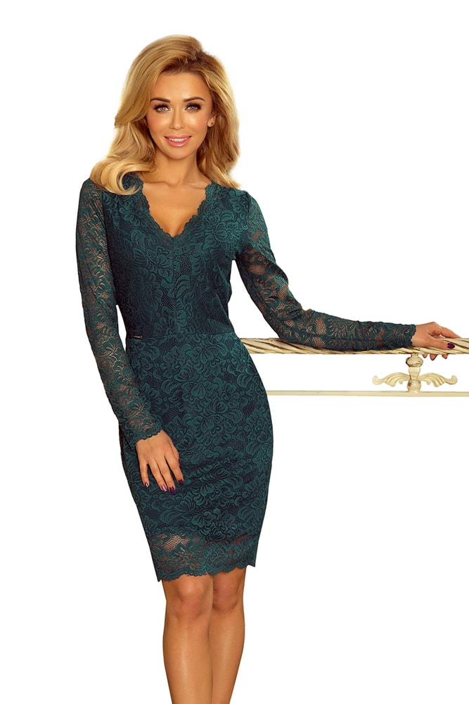 Večerní krajkové šaty - Numoco - Pouzdrové šaty - i-moda.cz a684fb56b4