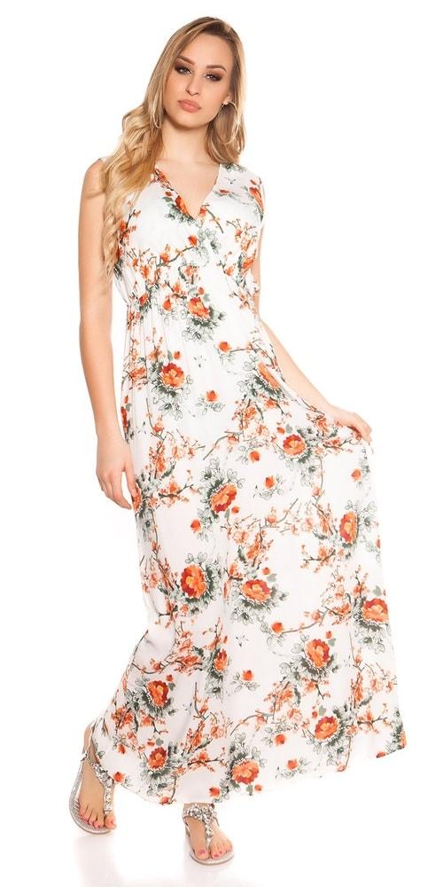 Kvetované letné maxišaty - Koucla - Dlhé letné šaty - vasa-moda.sk ef0ec027321