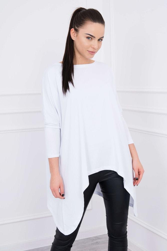 Bílá dámská tunika - Kesi - Tuniky - i-moda.cz 865c6b4fcf