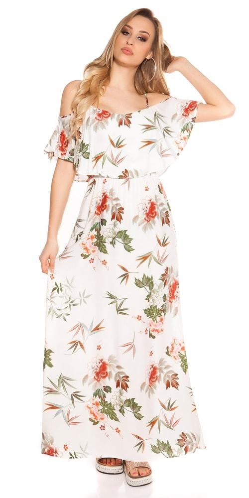 Letné kvetované šaty - Koucla - Dlhé letné šaty - vasa-moda.sk d04a0ddbca3
