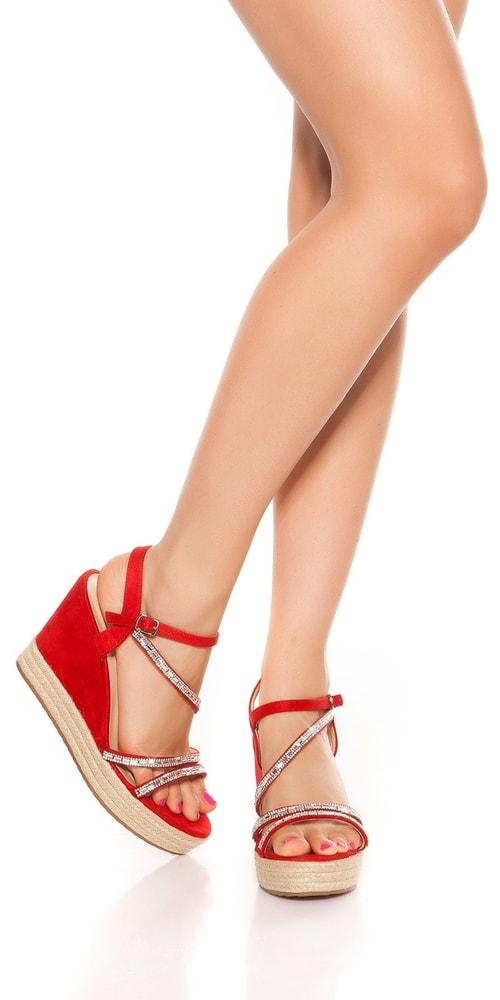 28428157785d Letní sandálky na klínku - 36 Koucla in-ob1095re