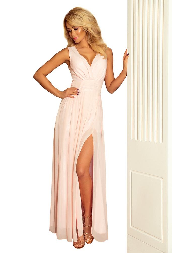 8f32d95d9215 Spoločenské dlhé šaty - L Numoco nm-sat166-4