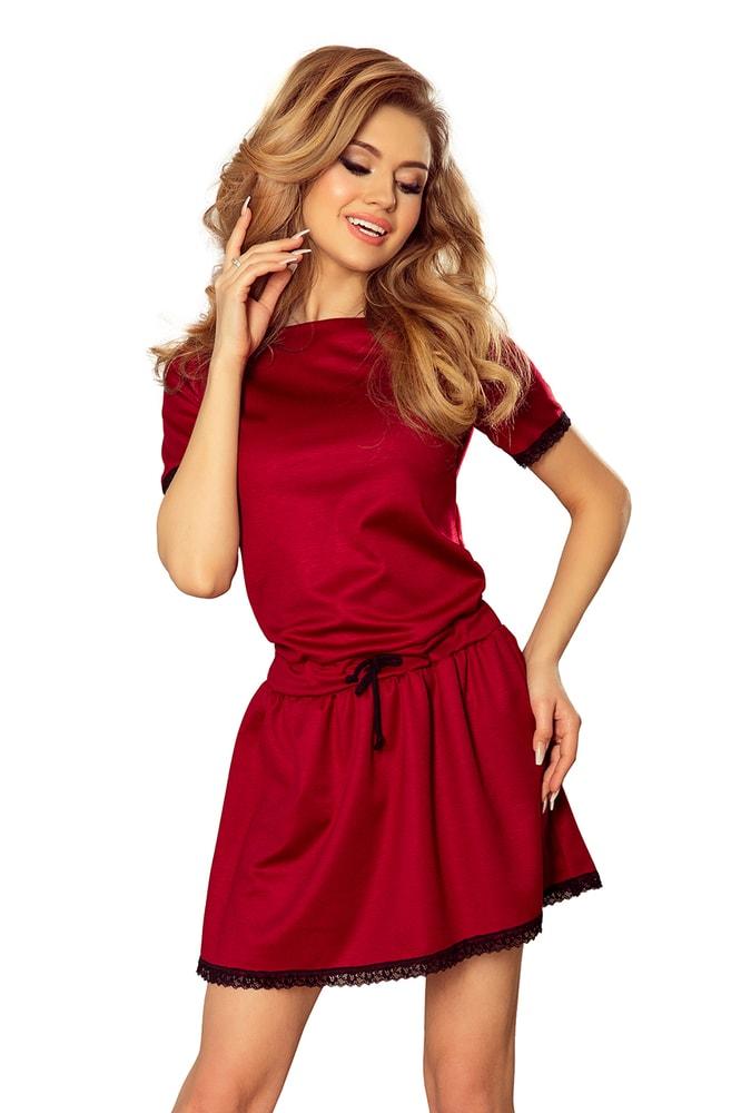 Dámské volnočasové mini šaty - L Numoco nm-sat199-2