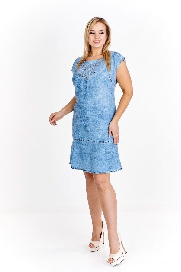 95d3c729dd5 Dámske džínsové šaty - 46 Ptakmoda pt-sat1453mo