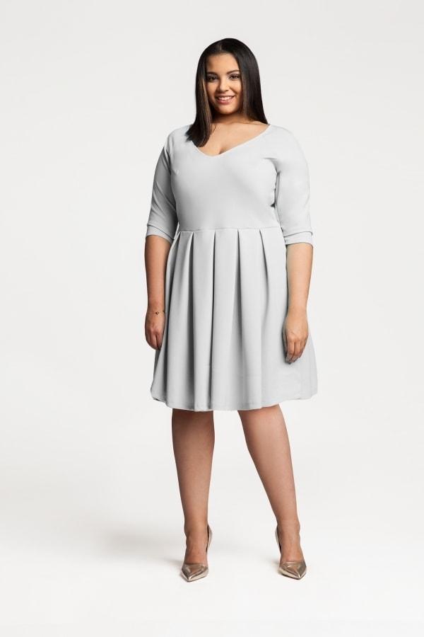 5ef4a8dbf97c Koktejlové dámské šaty plus size - 52 54 Ptakmoda pt-sat1452sg