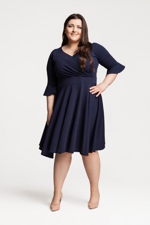 Dámské šaty plus size - Ptakmoda - Společenské šaty pro plnoštíhlé - i ... d815d868cd