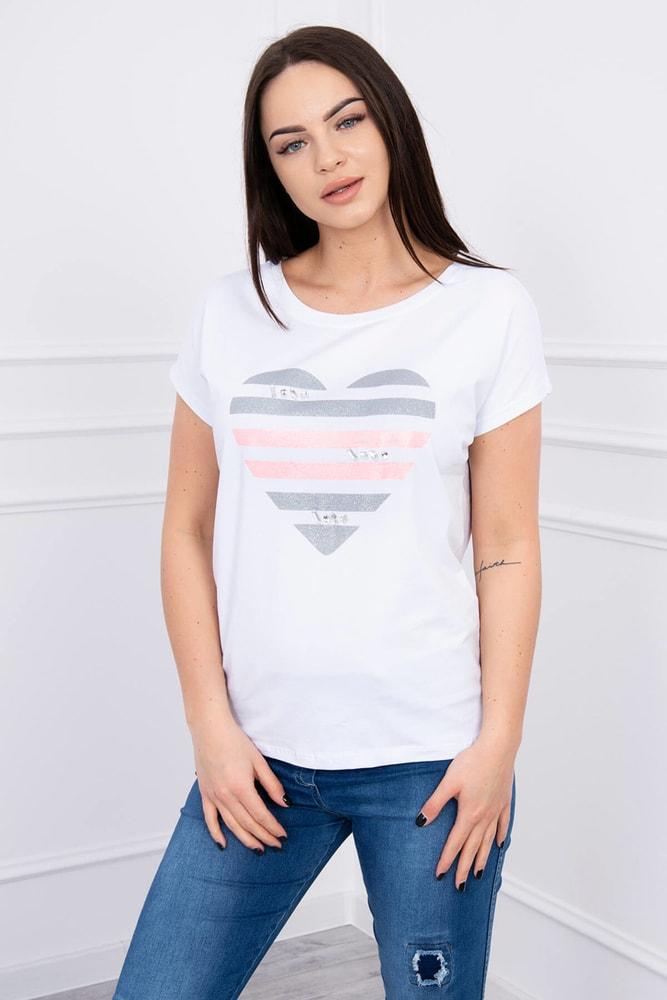 Dámske tričká Kesi ks-tr8869wh