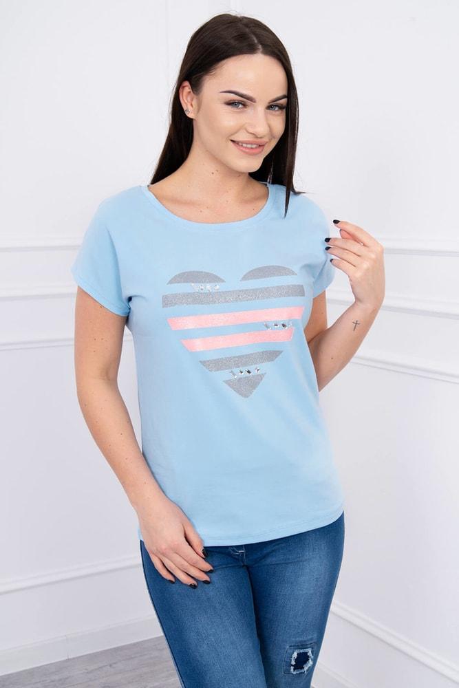 Dámske tričká Kesi ks-tr8869smo