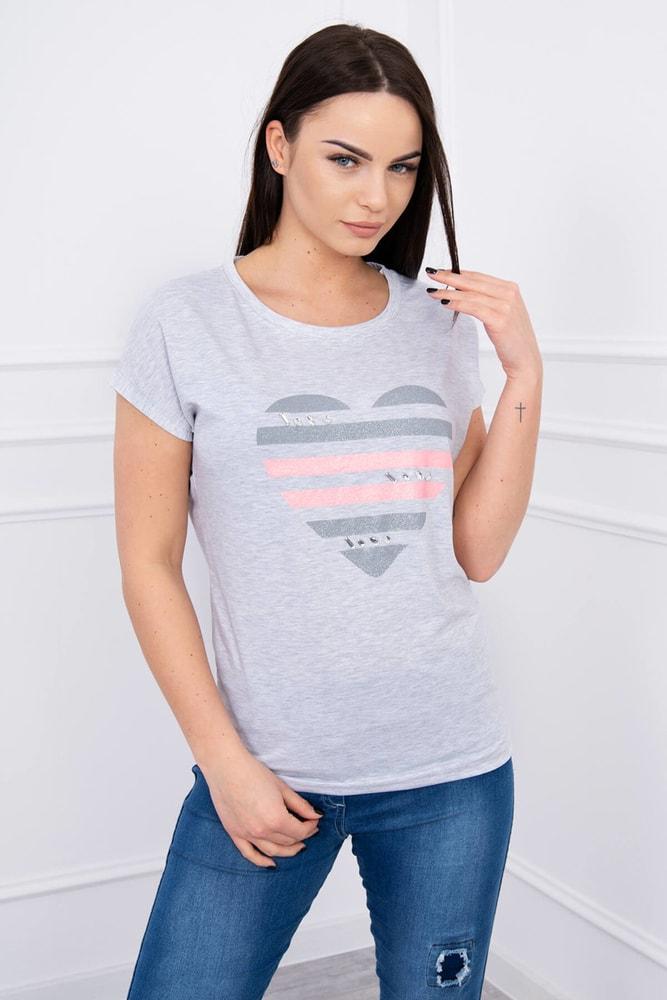 Dámske tričká Kesi ks-tr8869sg