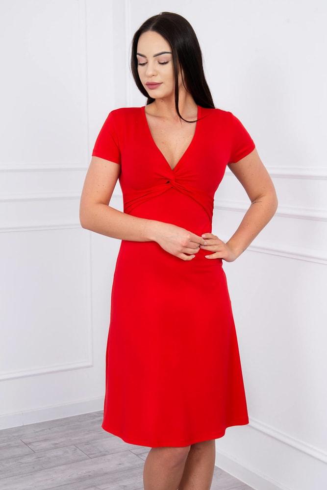 af677785d94 Letní červené šaty - Kesi - Krátké letní šaty - i-moda.cz