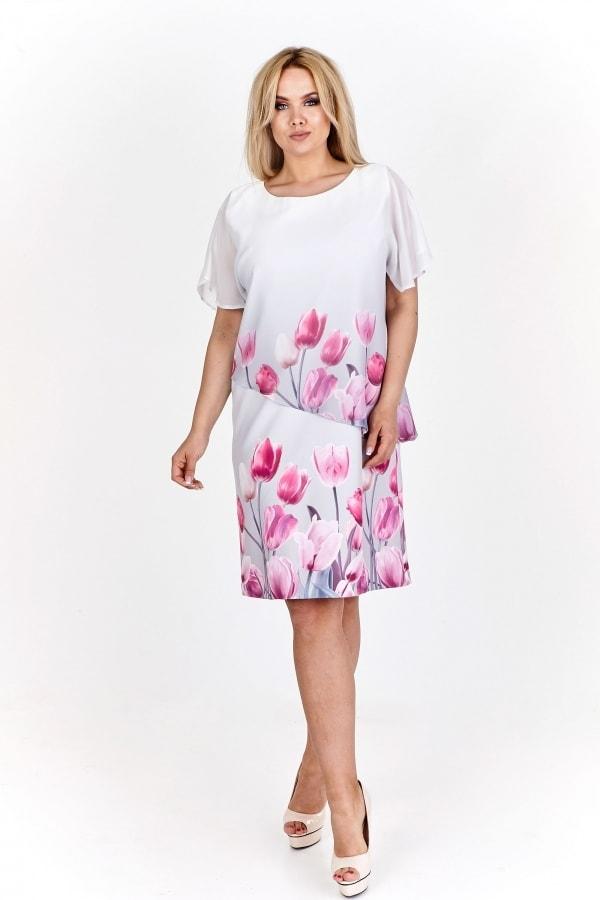 7c1374903d0 Dámské šaty pro plnoštíhlé - Ptakmoda - Letní šaty pro plnoštíhlé - i ...