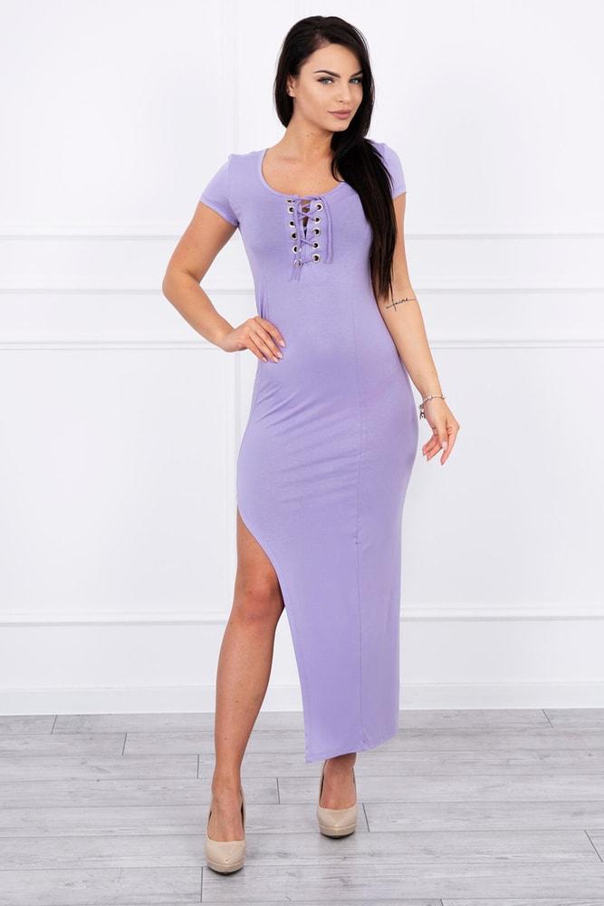 354a327bfbb3 Fialové dámské šaty Kesi ks-sa8889li