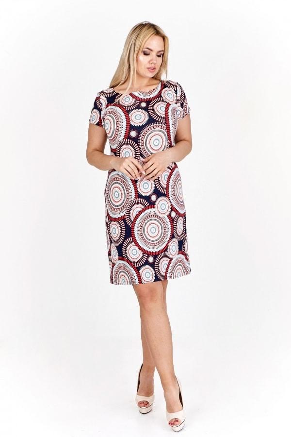 Dámské vzorované šaty - Ptakmoda - Letné šaty pre plnoštíhle - vasa ... 6e6cd49b85a