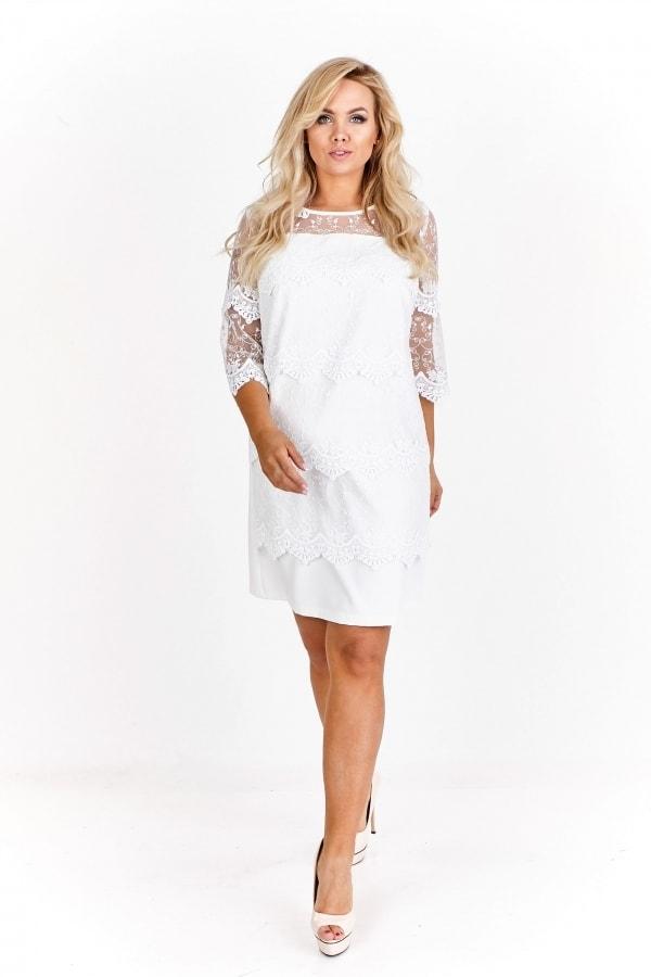 Dámské elegantní šaty s krajkou - Ptakmoda - Spoločenské šaty pre ... 93eec945e85